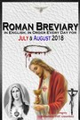 Roman Breviary - in English, in Order, Every Day for July & August 2018