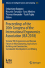 Proceedings of the 20th Congress of the International Ergonomics Association (IEA 2018) - Volume VIII: Ergonomics and Human Factors in Manufacturing, Agriculture, Building and Construction, Sustainable Development and Mining