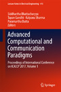 Advanced Computational and Communication Paradigms - Proceedings of International Conference on ICACCP 2017, Volume 1